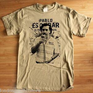 84de264f Image is loading Pablo-Escobar-t-shirt-Medellin-cartel-Colombian-cocaine-