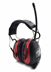 Nordstrand Ear Defenders Protection Muffs Headphones w/ Phone Jack & AM FM Radio 5055983162486