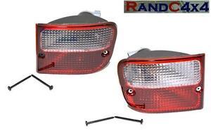 Land-Rover-Freelander-1-Rear-Bumper-Tail-Light-Lamp-Pair