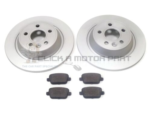 FORD MONDEO MK4 2007-2015 REAR BRAKE DISCS & MINTEX PADS (MANUAL HANDBRAKE)