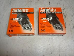 Lot-of-8-Autolite-646-Spark-Plug