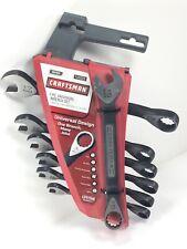 Craftsman 14019 7 Pc Universal Metric Wrench Set 10mm To 17mm