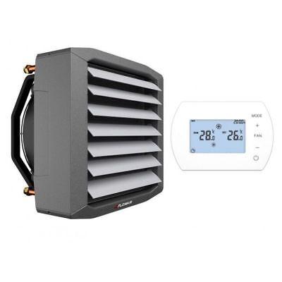 VertrauenswüRdig Lufterhitzer 50,4 Kw Thermostat Regler Heizregister Luftheizung Hallenheizung Chinesische Aromen Besitzen