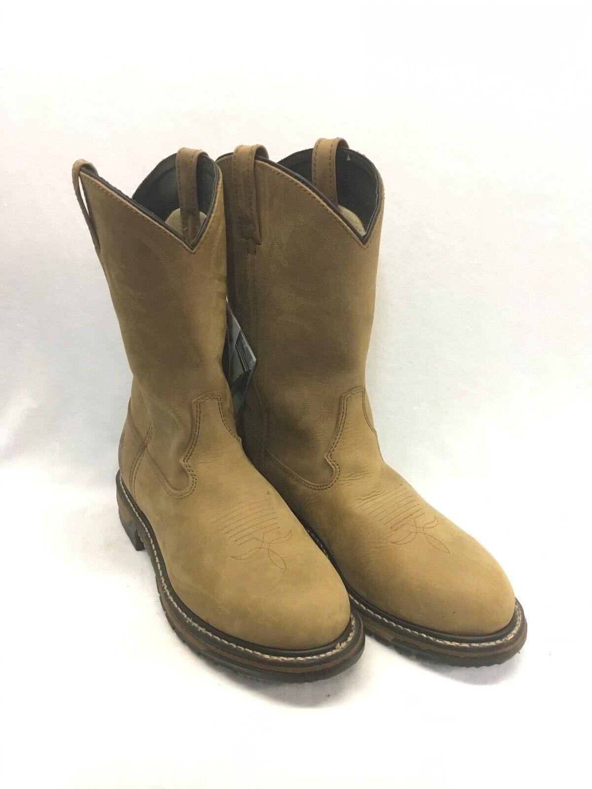 Men's Rocky Boots-Original Branson Tan Workboot, Style 2733