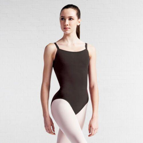 Capezio CC110 BraTek® Black Camisole Ballet Dance Leotard with Bratek