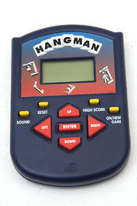 HANGMAN Rare, Retro, Vintage, Collectable digital game 1998 by Hasbro