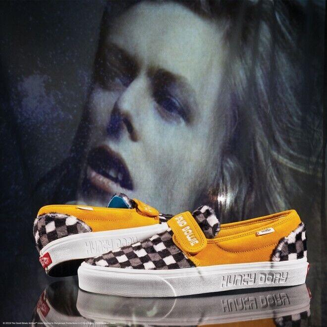 VANS x  DAVID BOWIE Slip -On 47 V Hunky Dory scarpe da ginnastica VN0A3WM4VSX1 Dimensione 5 -12  autentico online