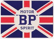 Playing Cards 1 Single Swap Card Old Wide BP MOTOR SPIRIT Car Petrol Gas FLAG Ad