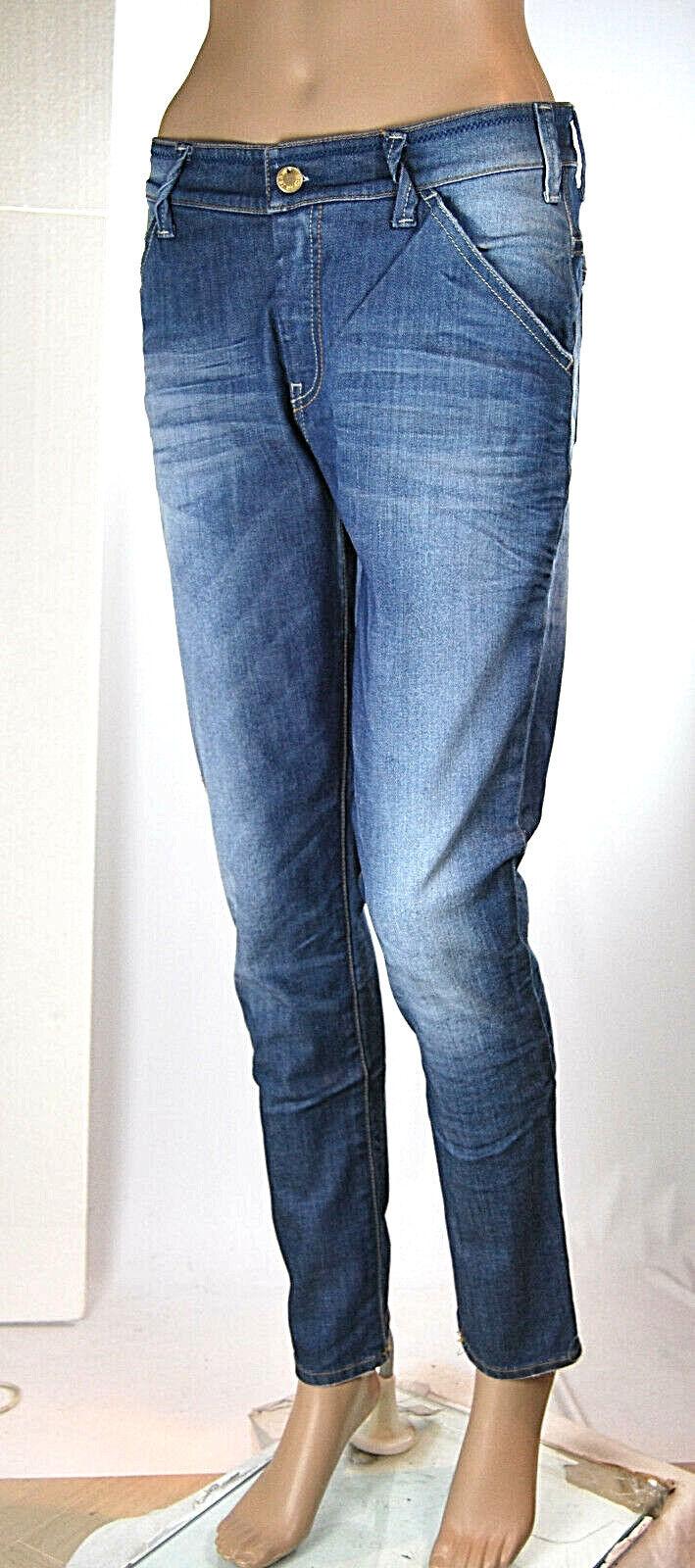 Jeans women Pantaloni MET Made in  Regular Fit CA84 Tg 27 32 veste grande