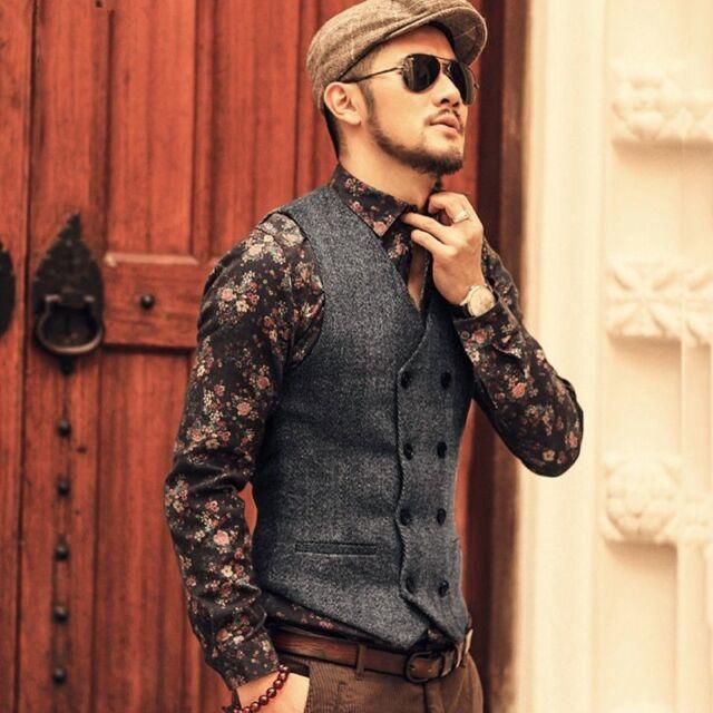 Wonderlijk Suitsupply Men Quilted Bodywarmer Wool Blend Vest Reversible LP-81