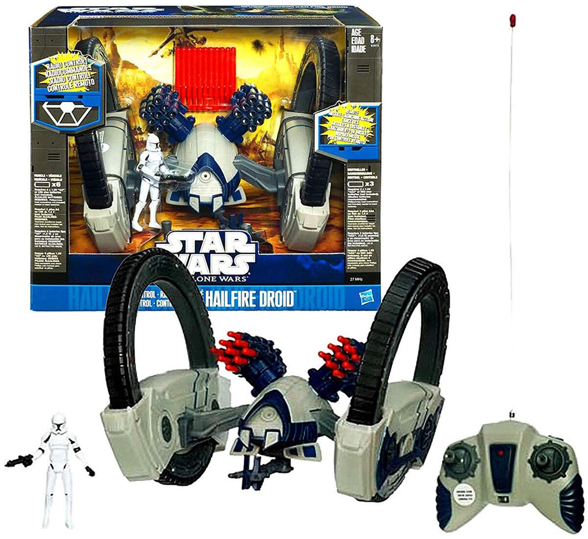 Star Wars - RADIO CONTROL HAILFIRE DROID - Hasbro Hasbro Hasbro - Nuovo, scontato per sgombero  comprar descuentos