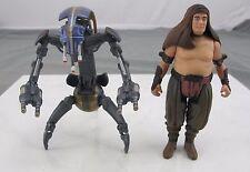Star Wars Kenner 1997 Rancor Handler & Destroyer Droid Loose Action Figures