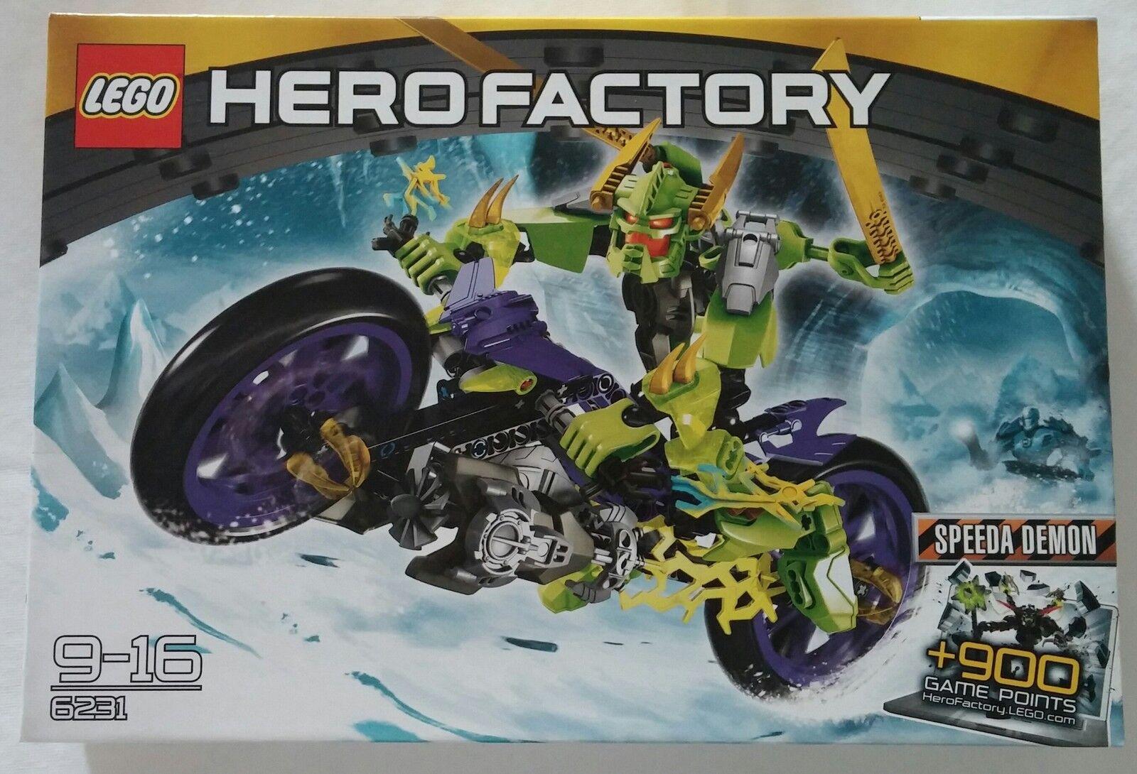 LEGO ® Hero Factory 6231 speeda DEMON NOUVEAU & OVP new sealed rare