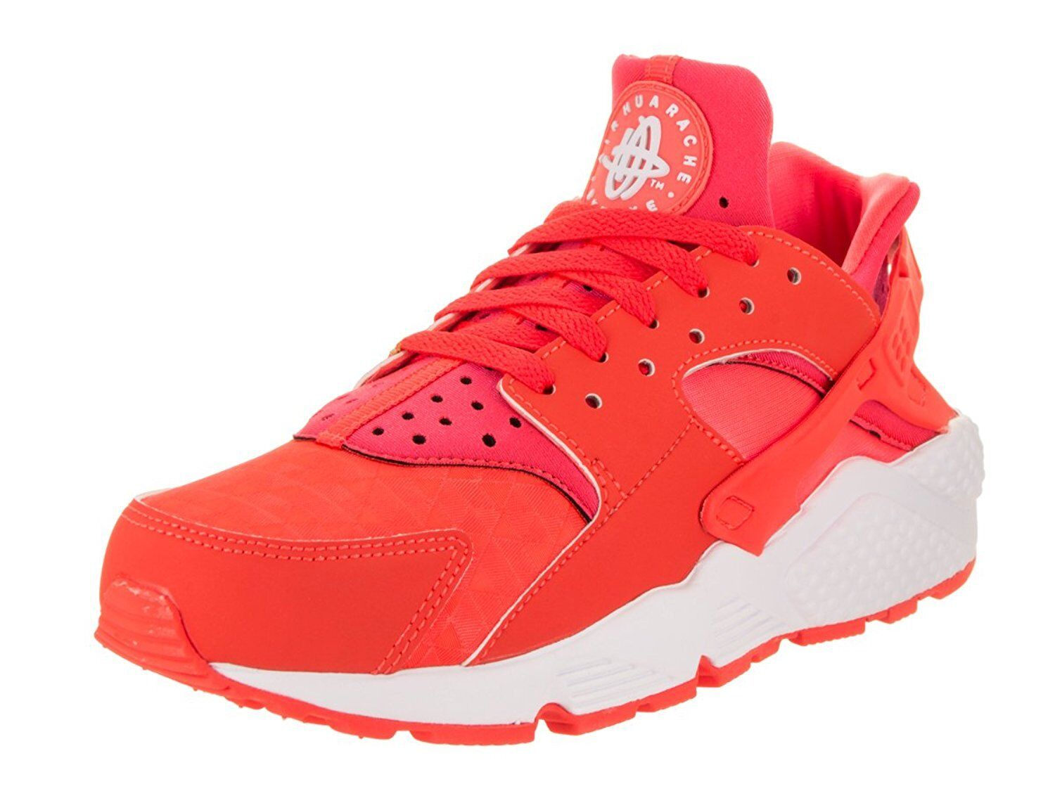 Nike Air Huarache 608 Run Bright Crimson/Bright Crimson (Womens) 634835 608 Huarache 7 8 49a46b