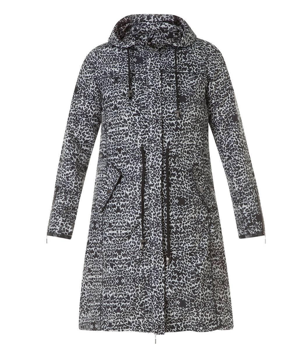 Parka Damen Regenmantel große Größen Mantel Regen Friesennerz Übergangsjacke