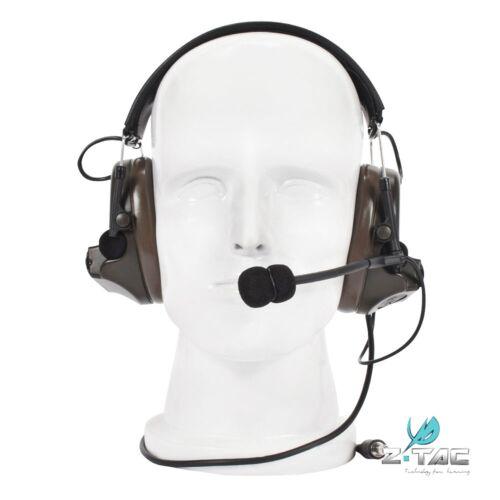 Z Tactical Peltor COMTAC II Headphone Noise Reduction Headset receiver Z041-FG