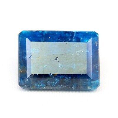Freundschaftlich Top Big Apatite : 27,89 Ct Natürlicher Blau Apatit Aus Brasilien Mangelware