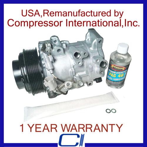 2007-2011 Camry 3.5L,2007-2011 Avalon OEM Reman A//C Compressor
