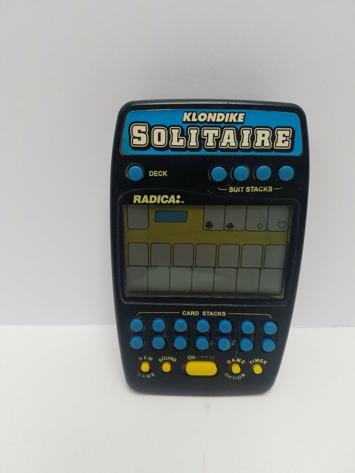 Radica Klondike Solitaire Model 2320 2320 2320 Electronic Handheld Portable Travel Game daf926