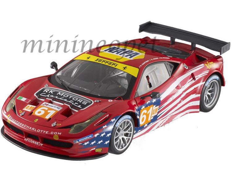 varm HJULER ELITE BCT78 FERRARRI 458 ITALIA GT2 LM 2012 AF CORSE SEBRING 1  18