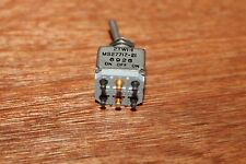 Aircraft Toggle Switch 3 position MS27717-21