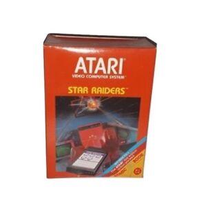 Star-Raiders-CX2660-1-w-Atari-Video-Touch-Pad-amp-First-Edition-Comic-New