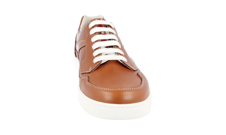 Zapatos Zapatos Zapatos PRADA LUSSO 4E2797 NOCCIOLA NUOVE 9 43 43,5 ee3ffd