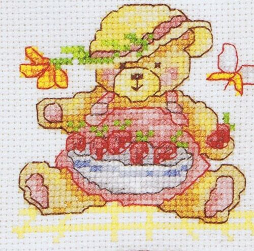 Teddies Teddy Bears Cross Stitch Chart DMC P5088 9 Designs