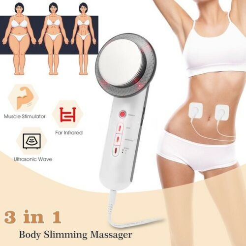 3 in 1 Body Slimming Massager EMS Infrared Ultrasonic Cavitation Beauty Ma ☀A