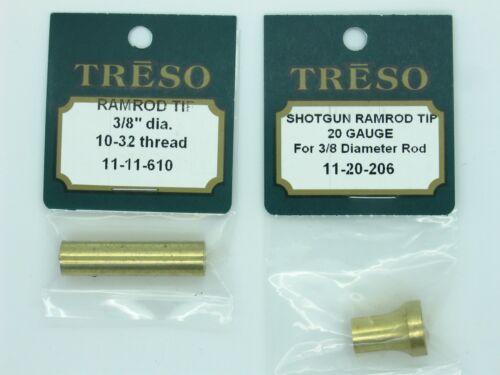 """Treso Muzzleloading Shotgun Ramrod ends 3//8/"""" 20 Gauge"""