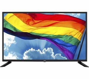 "LOGIK L32HE20 32"" HD Ready LED TV Freeview HD 60Hz Black - Currys"
