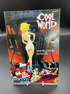 COOL WORLD (Super Nintendo SNES) Original Instruction Manual