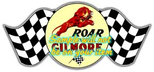 Gilmore /'C/' Gasoline Vinyl Decals Sign Stickers Motor Oil Gas Globes