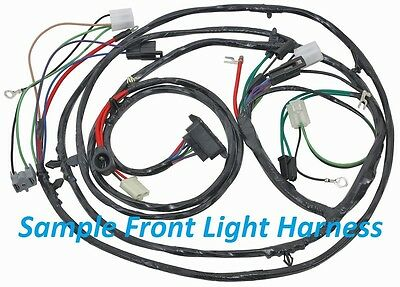 67 chevelle wire harness 1967    chevelle    front light    wire       harness    v 8 factory gauges  1967    chevelle    front light    wire       harness    v 8 factory gauges