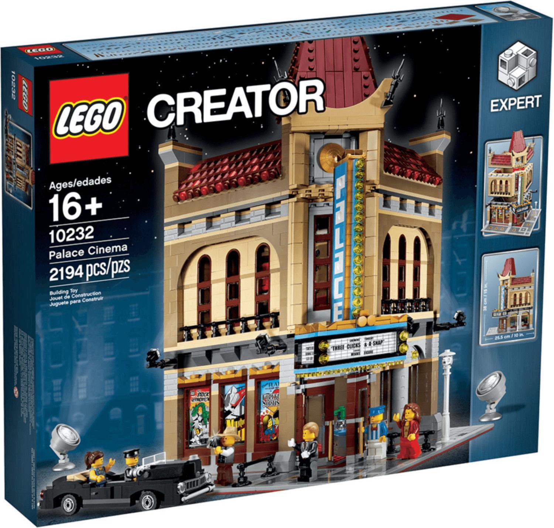 LEGO 10232 PALACE CINEMA LEGO CREATOR EXPERT MODULAR NUOVO SIGILLATO PER 16+