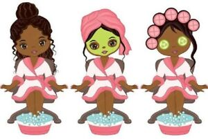 12-African-American-Spa-Pedicure-stickers-for-planners-and-scrapbooking