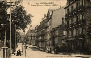 CPA-Luxeuil-les-Bains-Rue-des-Thermes-et-Modern-Hotel-636749