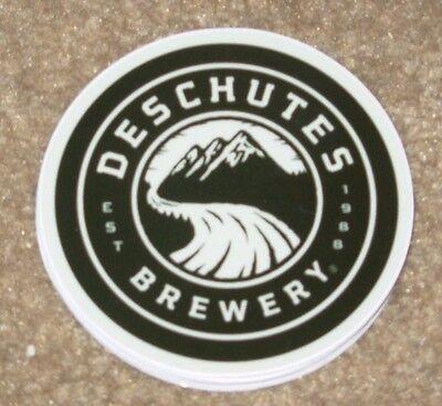 DESCHUTES BREWERY promo BEND OREGON LOGO STICKER decal craft beer brewing ABYSS