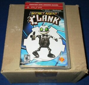 Lot-of-12-Sealed-Case-Secret-Agent-Clank-Sony-PSP-Free-Shipping