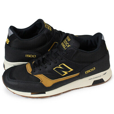 Details about NEW BALANCE 1500 Made in England Running Shoe Men MH1500KT Black/Tan