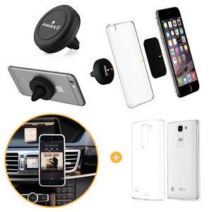 Custodia-Cover-Trasparente-Porta-Telefono-Auto-Magnetico-Anukku-Per-LG