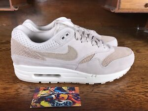 38b1d19bb7a1a Nike Air Max 1 Premium Mens Running Shoe Tan/Sail/White 875844 004 ...