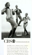 ANITA MANN JUDY VAN WORMER LEGGY BUSTY HIGH BOOTS KEN BERRY 1969 CBS TV PHOTO
