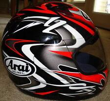 Arai Quantum 2 Twisted Red Black motorcycle helmet Ducati colors New XS M L XL