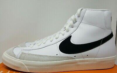 beauty reasonable price latest design Nike Blazer Mid 77 Vintage White Black BQ6806 100 Men's Size 12.5 | eBay