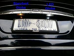 2x-ULTRA-WHITE-LED-Ford-Falcon-XT-AU-BA-BF-FG-XR6-Turbo-XR8-FPV-Rego-Map-Parker