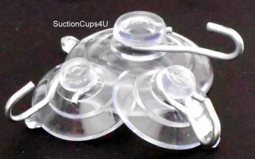"""25 1-1//8/"""" X-Duty USA Small Industrial Suction Cups U-Hook Hangers suctioncups4u"""