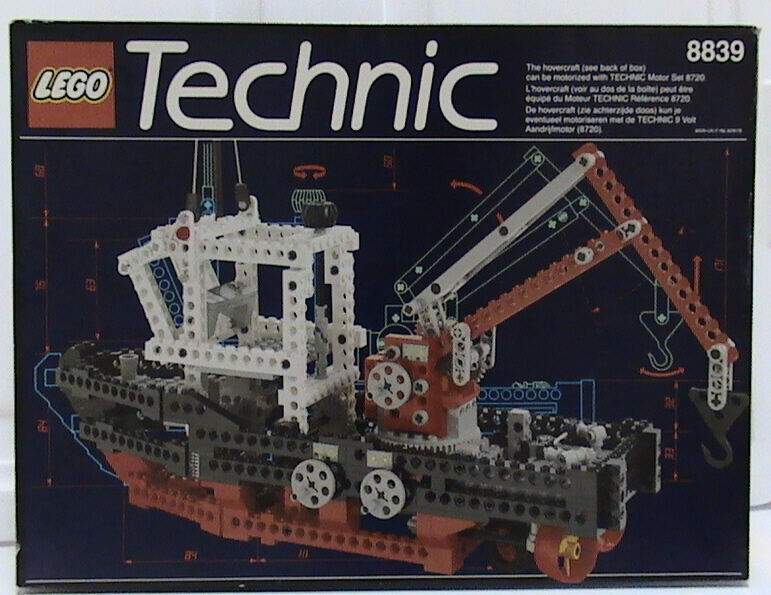 NEW Lego Technic Harbor  8839 Suppy Ship Nuovo Sealed  1992'