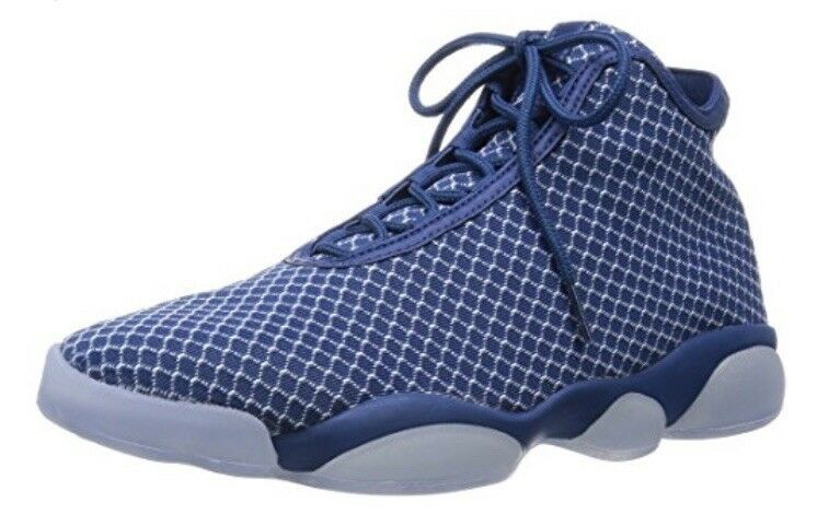 Jordan Nike Men's Horizon French bluee White Basketball shoes 10 Men US