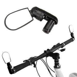 Schwarz-Sport-Fahrradspiegel-Verstellbar-Fahrrad-Spiegel-Rueckspiegel